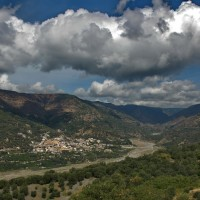 Bagaladi - Panorama con Valle Tuccio - Foto Enzo Galluccio