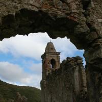 Palizzi - Pietrapennata - Resti Santuario della Madonna dell'Alica - Foto Enzo Galluccio