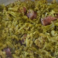 Gastronomia - Secondi Piatti -  Broccoli con Salsccia (Enzo Galluccio)