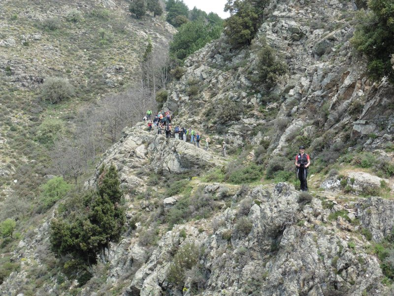 EXCURSION from Ghorio di Roghudi to Pesdavoli
