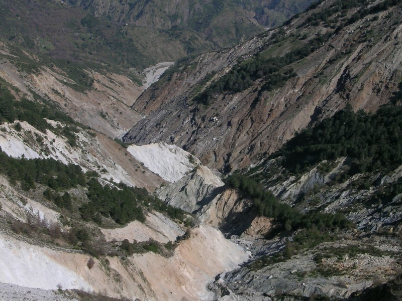 EXCURSION from Misurici to the Colella landslide and Punta d'Atò